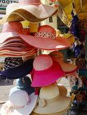 Stro hoeden — Stockfoto