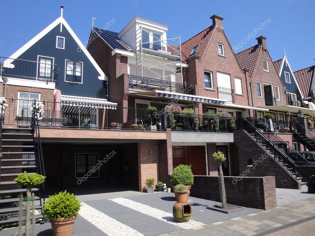 典型的荷蘭房子,阿姆斯特丹荷蘭 — 照片作者 shreder077