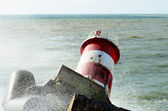 Lighthouse Nazare — Stock Photo
