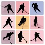 Ice hockey — Stock Vector #28605921