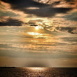 Stock Photo: Sunset Baltic Sea