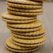 Cookie tower — Stock Photo