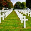 American war cemetery — Stock Photo