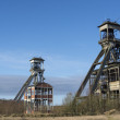 Stock Photo: Old coal mine shafts