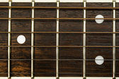 Fret board close up — Stock Photo