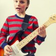 Rocking boy — Stock Photo