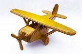 деревянная игрушка плоскости — Стоковое фото