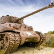 Stock Photo: Sherman tank