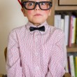 Nerdy boy — Stock Photo