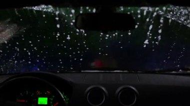 Carwash time lapse — Vídeo Stock