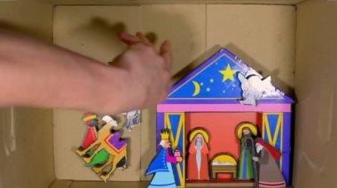 Christmas box — Stock Video