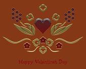 Glad alla hjärtans dag — Stockfoto