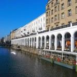 Hamburg - a city on water — Stock Photo #24191093