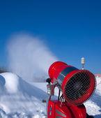 Snow-making gun — Stock Photo