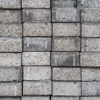 Gray square pavement cement bricks — Stock Photo #23253684