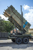 Patriot missile launcher — Stock Photo
