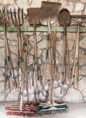 Garden hand tools — Stock Photo