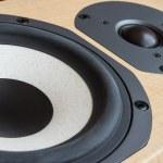Loudspeaker closeup — Stock Photo