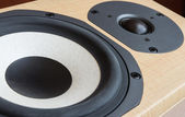 Loudspeaker closeup — Stock Photo