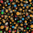 Colorful bubbles on dark background — Stock Photo
