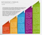 White infographics — Stock Vector