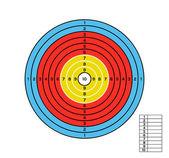 Färg mål — Stockvektor