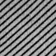Striped cotton fabric texture background. — Stock Photo