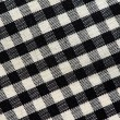 Stock Photo: Plaid cotton fabric texture background.