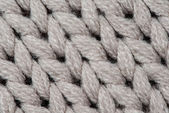 White knitting wool texture background. — Stock Photo