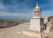 A reconstruction of the tomb of Herod the great in Herodion, Jud — Stock Photo