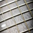 Guitar neck — Stock Photo