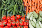 Selected vegetables — Stock Photo