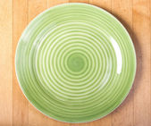 An empty plate — Stock Photo