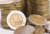 Coin treasure — Stock Photo