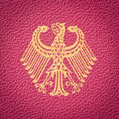 Germany coat of arms — Stock Photo