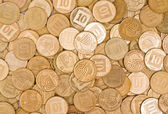 Coins background — Stock Photo