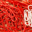 Paperclips background — Stock Photo #23382154