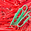 Paperclips background — Stock Photo #23382244