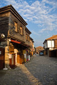 Street in Nesebar — Stock Photo