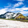 Stock Photo: Mountain hut