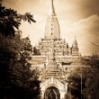 Ananda pagoda in Bagan, Myanmar - Stock Photo