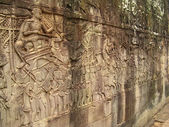 Stone carvings - angkor wat — Stock Photo