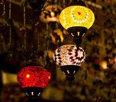 Turkish lanterns — Stock Photo