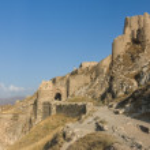 The old castle at Van - Eastern turkey — Stock Photo