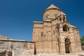 The armenian curch on Akdamar island - Turkey — Stock Photo
