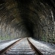 Railway Tunnel - Stock Photo