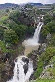 Saar waterfall at the Golan heights - Israel — Stock Photo