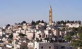 East Jerusalem cityscape — Stock Photo