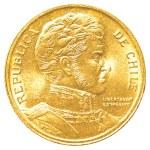 10 chilean pesos coin — Stock Photo #23805599