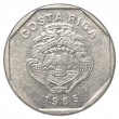 Old costa rican colones coin — Stock Photo